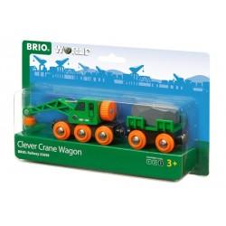 BRIO® 33698 Vagón Grúa Inteligente
