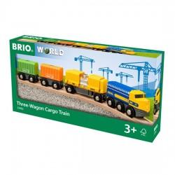 BRIO® 33982 Tren de Mercancías de Tres Vagones