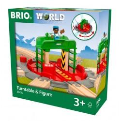 BRIO® 33476 Plataforma Giratoria con Figura