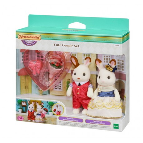 Sylvanian Families 5362 Set de Novios Stella y William