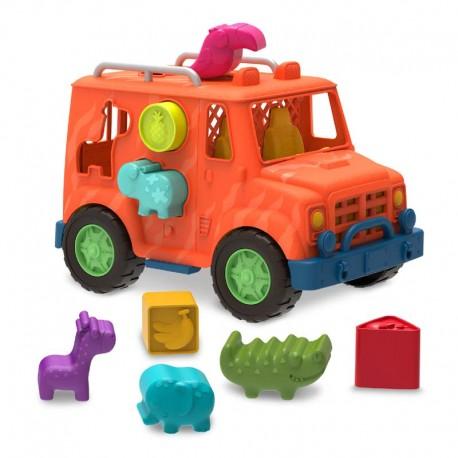 Wonder Wheels Camión 4 x 4 Safari Formas