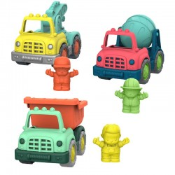 Wonder Wheels Set 3 Mini-Camiones