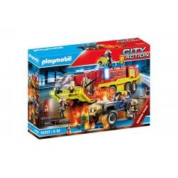 Playmobil® 70557 Operación de Rescate con Camión de Bomberos