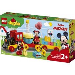 LEGO® 10941 Tren de Cumpleaños de Mickey y Minnie
