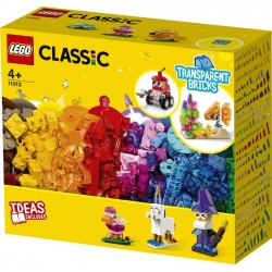 LEGO® 11013 Ladrillos Creativos Transparentes