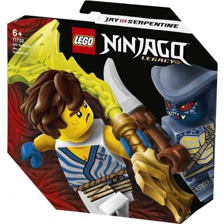 LEGO® 71732 Set de Batalla Legendaria: Jay vs. Serpentine