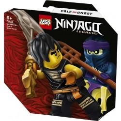 Lego® 71733 Set de Batalla Legendaria: Cole vs. Guerrero Fantasma