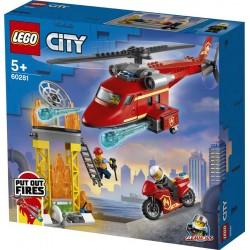 Lego® 60281 Helicóptero de Rescate de Bomberos