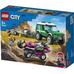 Lego® 60288 Furgoneta de Transporte del Buggy de Carreras