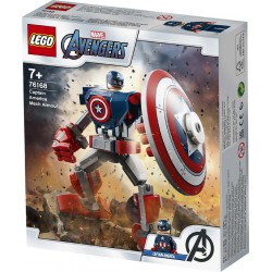 Lego® 76168 Armadura Robótica del Capitán América