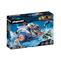 Playmobil® 70231 SPY TEAM Planeador de Nieve