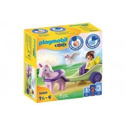 Playmobil® 70401 Carruaje Unicornio con Hada
