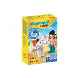 Playmobil® 70404  1.2.3. Jinete con Caballo