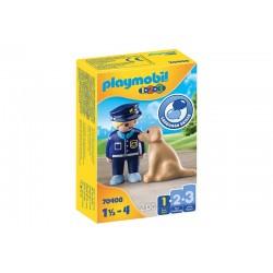 Playmobil® 70408  1.2.3. Policía con Perro