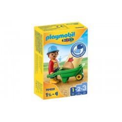 Playmobil® 70409  1.2.3. Obrero con Carretilla