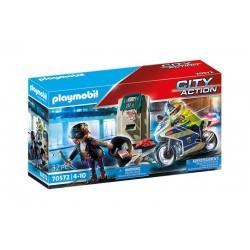Playmobil® 70572 Moto de Policía: persecución del ladrón de dinero