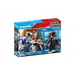 Playmobil® 70573 Bici Policial: persecución del carterista