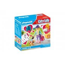Playmobil® 70595 Chica Fashion con Perro