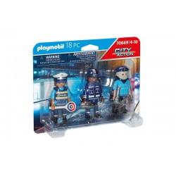 Playmobil® 70669 Set Figuras Policía