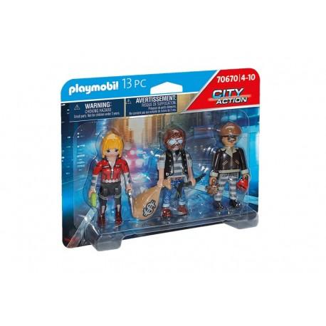 Playmobil® 70670 Set Figuras Ladrones