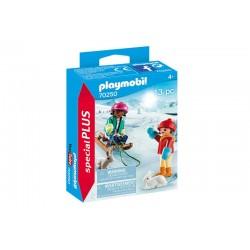Playmobil® 70250 Niños con Trineo
