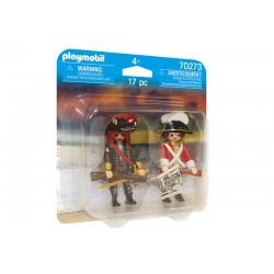 Playmobil® 70273 Dúo Pack Pirata y Soldado