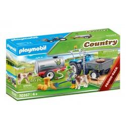Playmobil® 70367 Tractor de Carga con Tanque