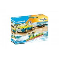 Playmobil® 70436 Coche de Playa con Canoa