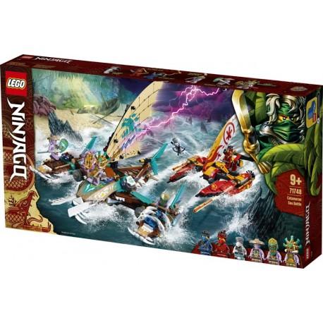LEGO® 71748 Batalla Naval en Catamarán