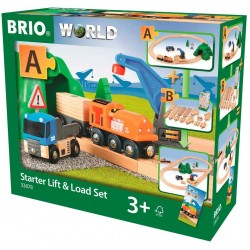 BRIO® 33878 Set de Inicio Grúa y Carga