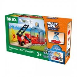 BRIO® 33976 Set de Túnel de Bomberos Smart Tech