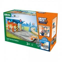 BRIO® 33975 Estación de Servicio Ferroviaria Smart Tech