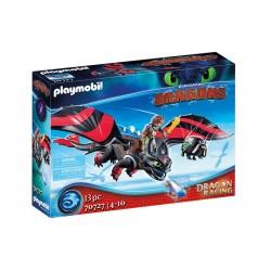 Playmobil® 70727 Dragon Racing: Hipo y Desdentao