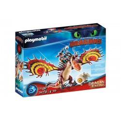 Playmobil® 70731 Dragon Racing: Garfios y Patán Mocoso