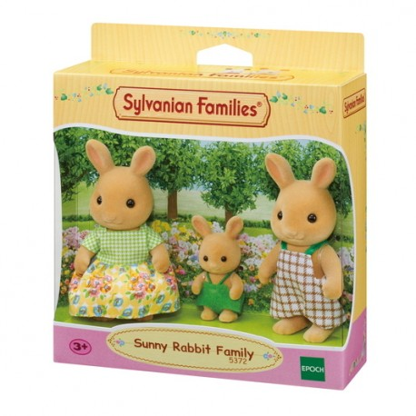Sylvanian Families 5372:Familia Conejo Sunny