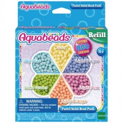 Aquabeads 31360 Pack Abalorios Pastel
