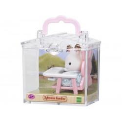 SF 5197 Bebé Para Llevar Conejo Chocolate con Trona