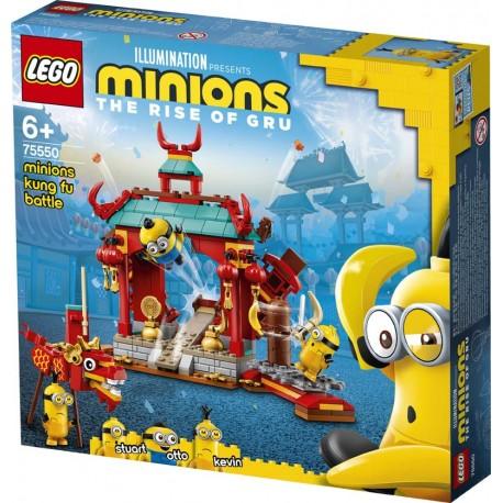 LEGO® 75550 Duelo de Kung-fu de los Minions