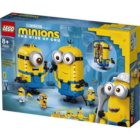 LEGO® 75551 Minions y su Guarida para Construir