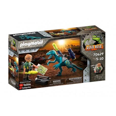 Playmobil® 70629 Uncle Rob: Armamento para la batalla