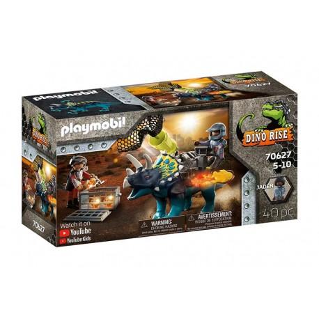 Playmobil® 70627 Triceraptos: Disturbios por las piedras legendarias