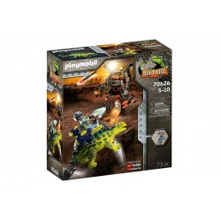 Playmobil® 70626 Saichania: Defensa del luchador
