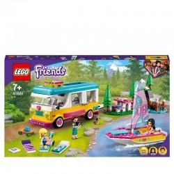 LEGO® 41681 Bosque: Autocaravana y Barco de Vela
