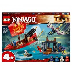 LEGO® 71749 Vuelo Final del Barco de Asalto Ninja