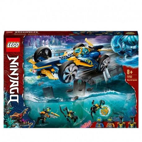 LEGO® 71752 Submarino Anfibio Ninja