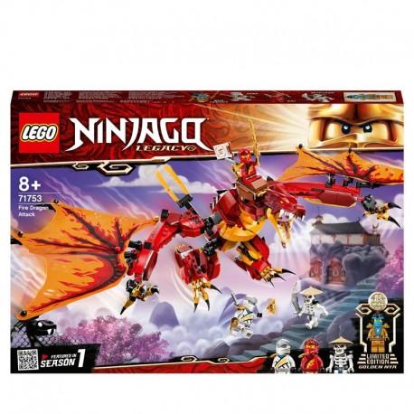 LEGO® 71753 Ataque del Dragón de Fuego