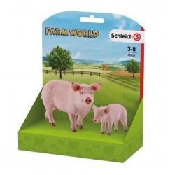 Schleich® 13851 Pack Cerdo y Lechón