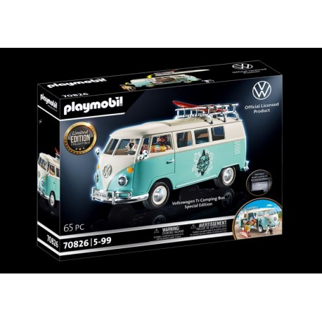 Playmobil® 70826 Volkswagen T1 Camping Bus - Edición Especial