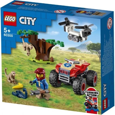 LEGO® 60300 Rescate de la Fauna Salvaje: Quad