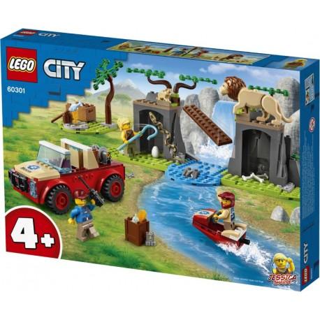 LEGO® 60301 Rescate de la Fauna Salvaje: Todoterreno